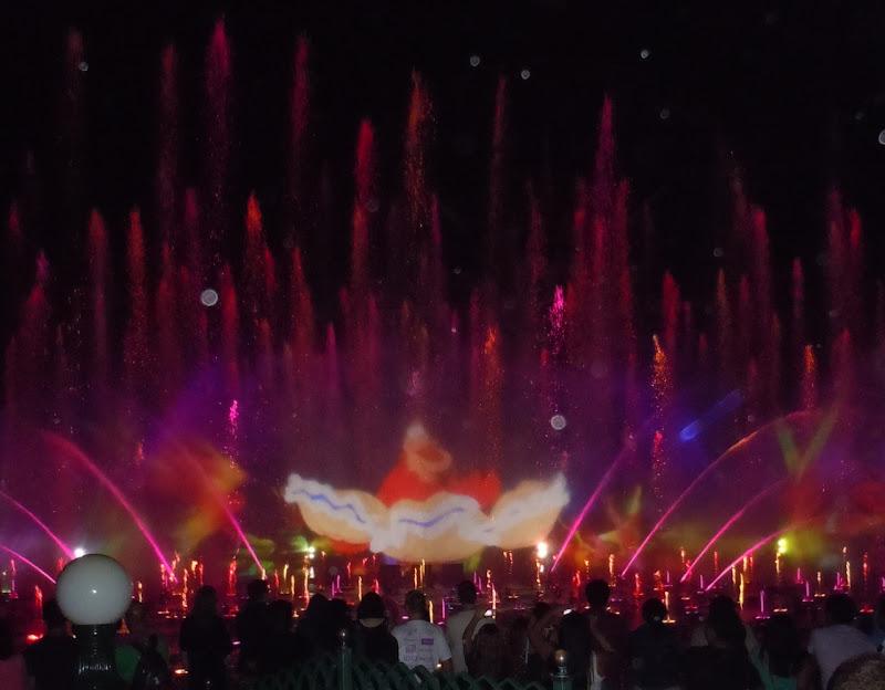 Disney World of Color Lightshow