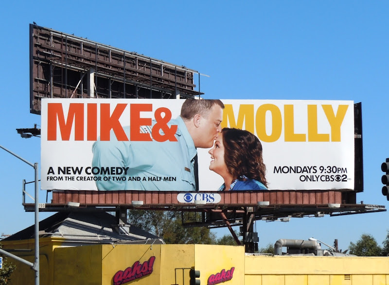 Mike and Molly TV billboard