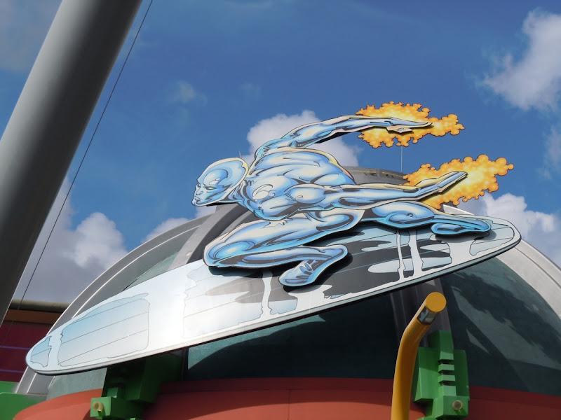 Silver Surfer Universal Studios