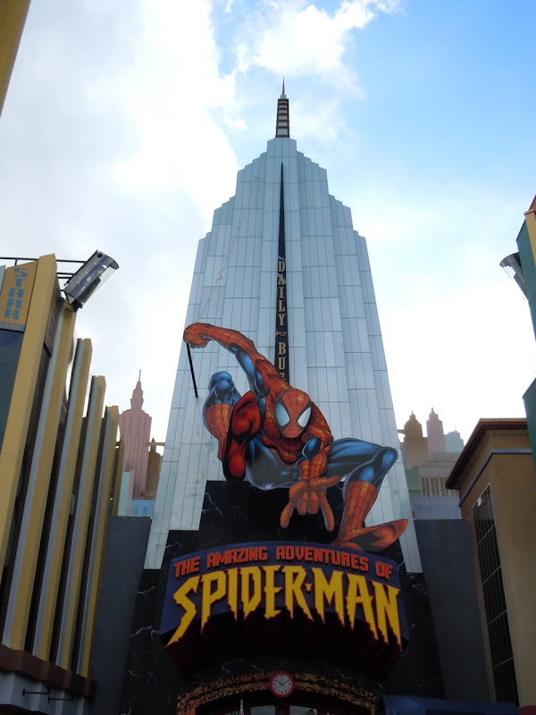 Amazing Spider-man ride