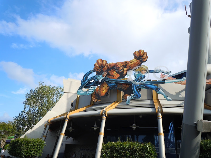 Fantastic Four Universal Studios