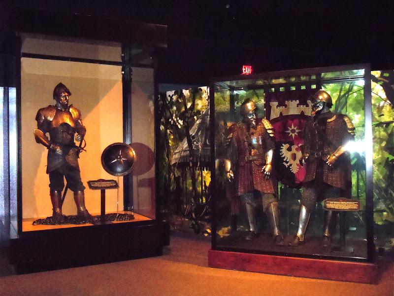 Narnia Prince Caspian costume exhibit