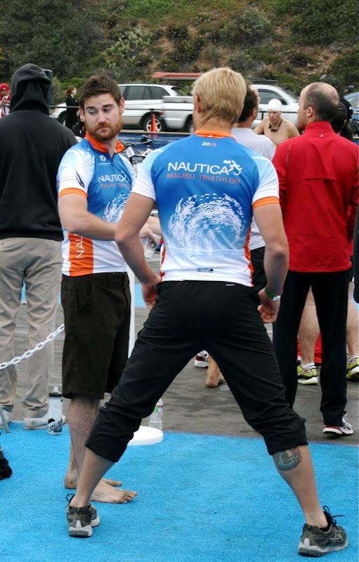 Malke celebrity Malibu Triathlon 2010