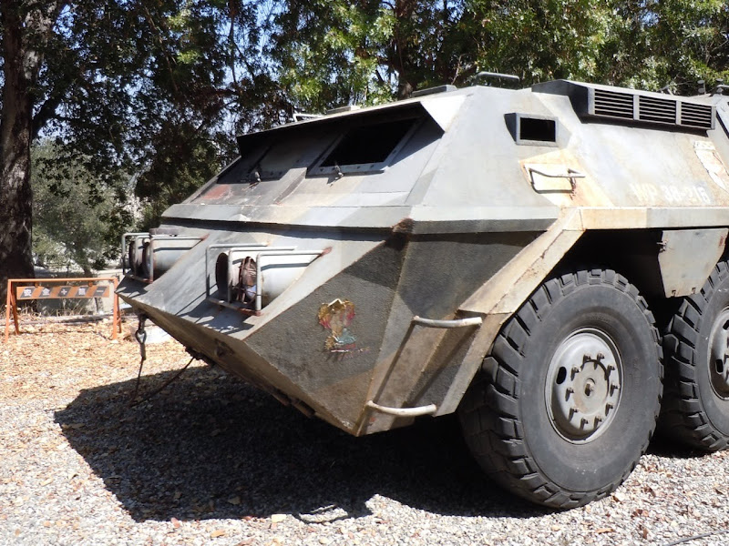 Doomsday movie tank vehicle