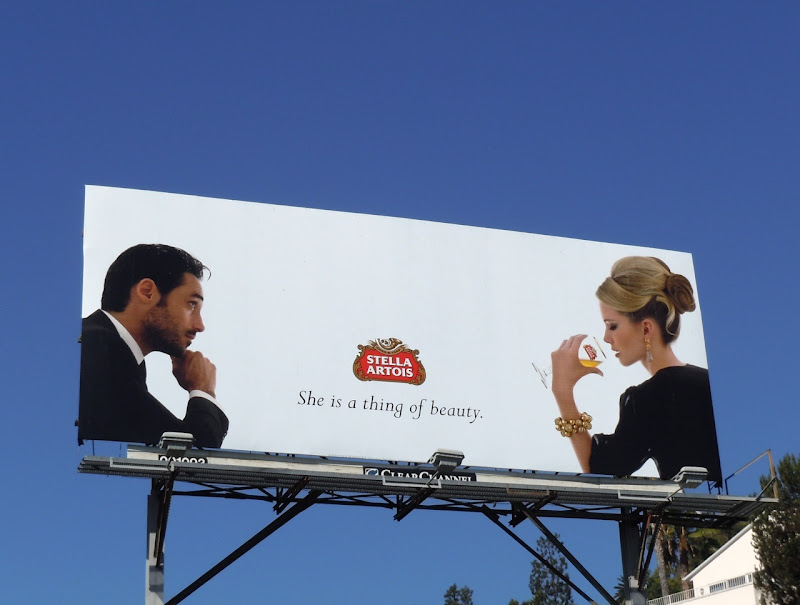 Stella Artois Thing of Beauty billboard