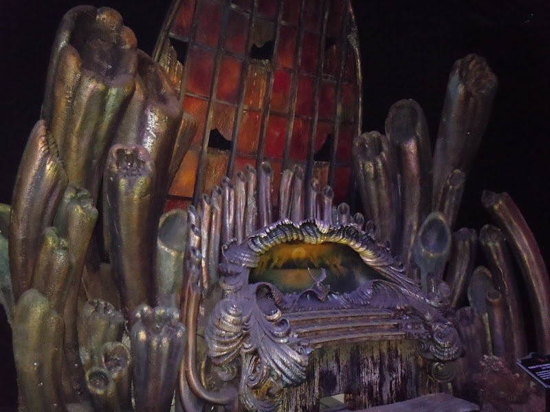 Davy Jones' Organ Pirates film prop