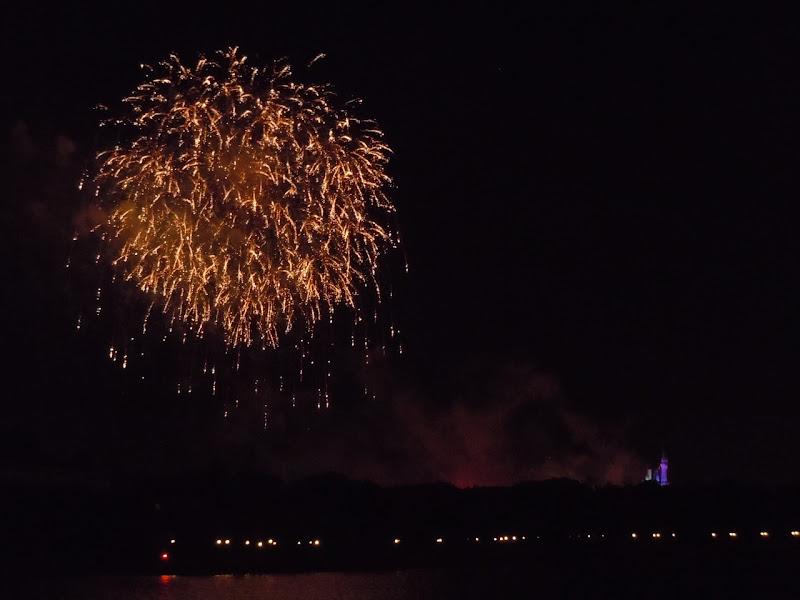 Magic Kingdom sparkle fireworks