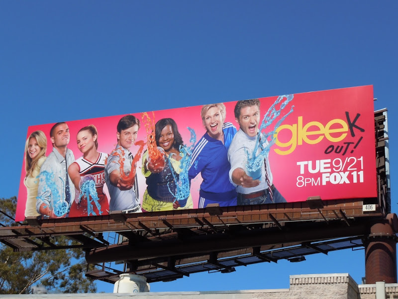 Glee Gleek Out billboard