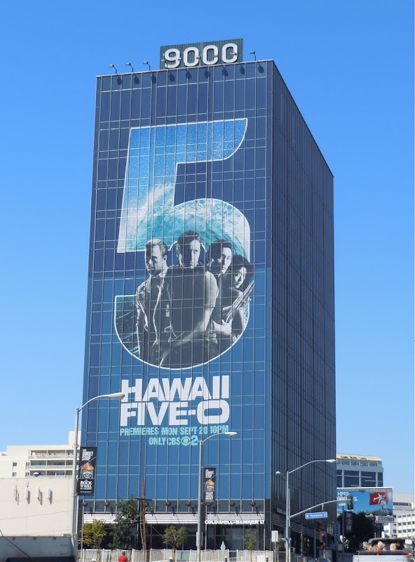 Hawaii Five-O billboard