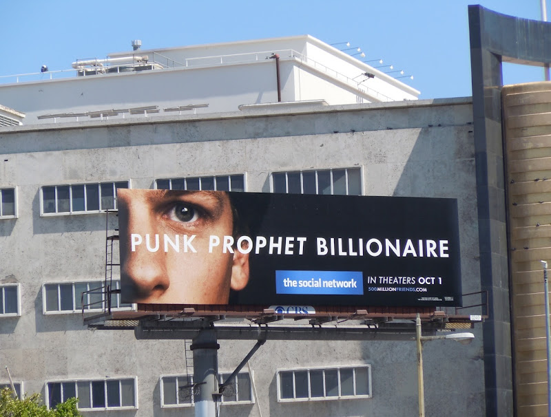 The Social Network billboard