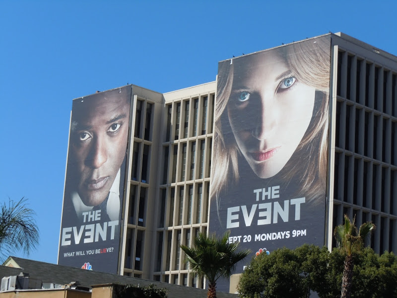 The Event TV billboards