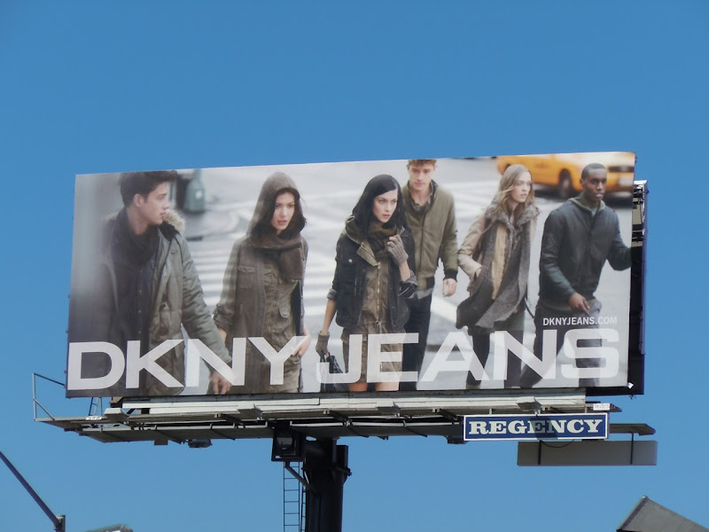 DKNY Jeans Fall 2010 billboard