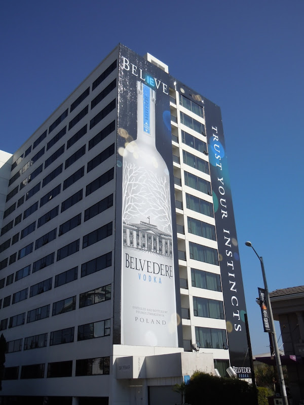 Mondrian Belvedere Vodka billboard