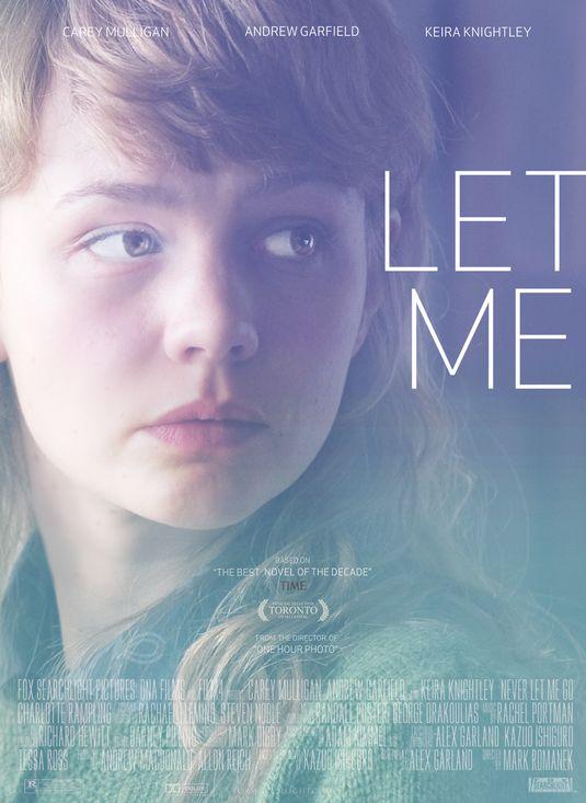 Never Let Me Go Carey Mulligan poster