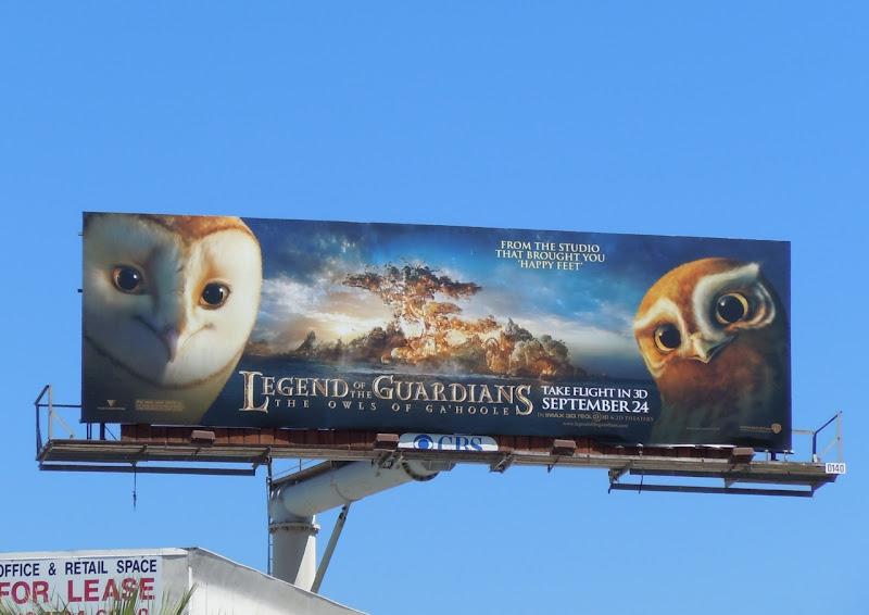 Legend of the Guardians Hero Owls billboard