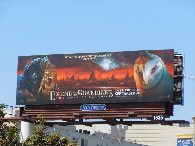 Legend of the Guardians Villain Owls billboard