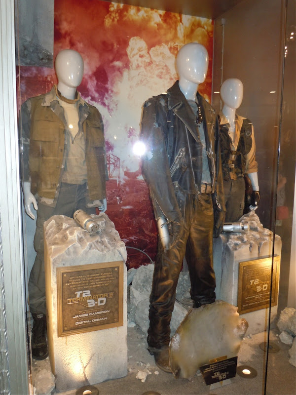 Terminator 2 3D movie costumes