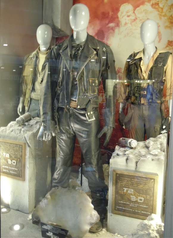 Terminator 2 Universal Studios attraction costumes