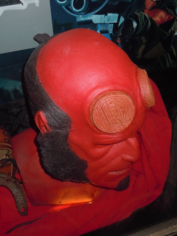Hellboy II prosthetic head