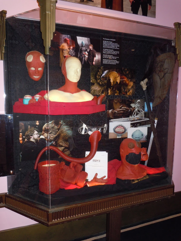 Hellboy II makeup exhibit