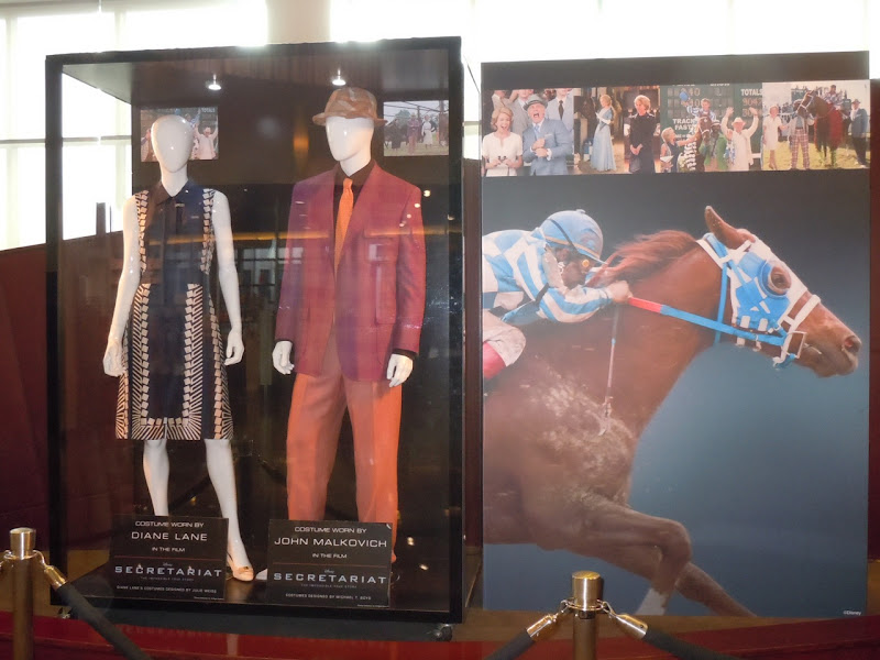 Secretariat film costume exhibit