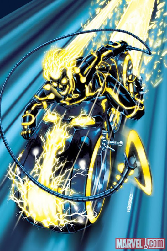 Ghost Rider Tron cover