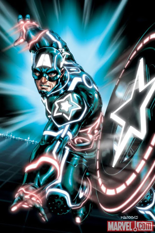 Captain America Tron cover