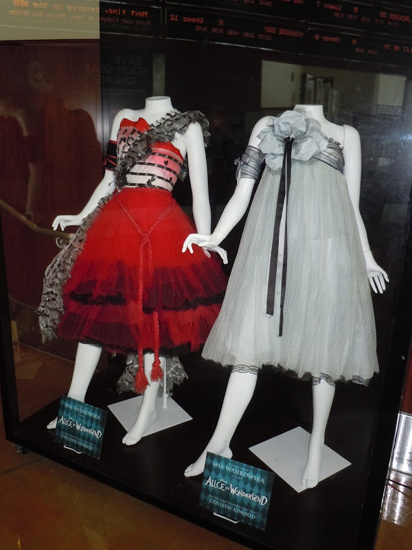 Alice in Wonderland movie dresses