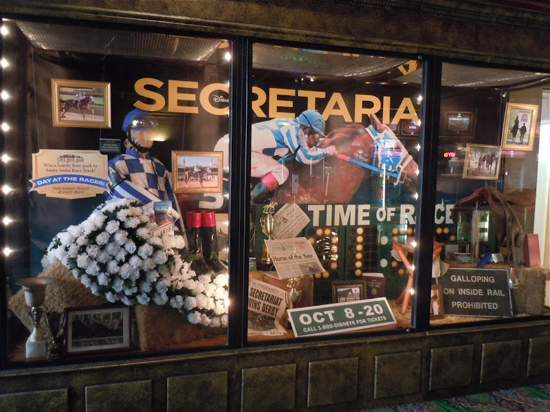 Secretariat movie costume and prop exhibit