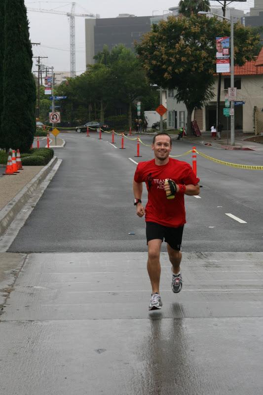 AIDS Walk 2010 Finish