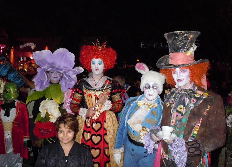 West Hollywood Halloween Alice in Wonderland