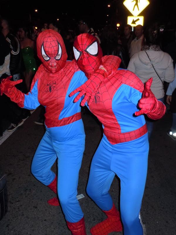 West Hollywood Halloween spider friends
