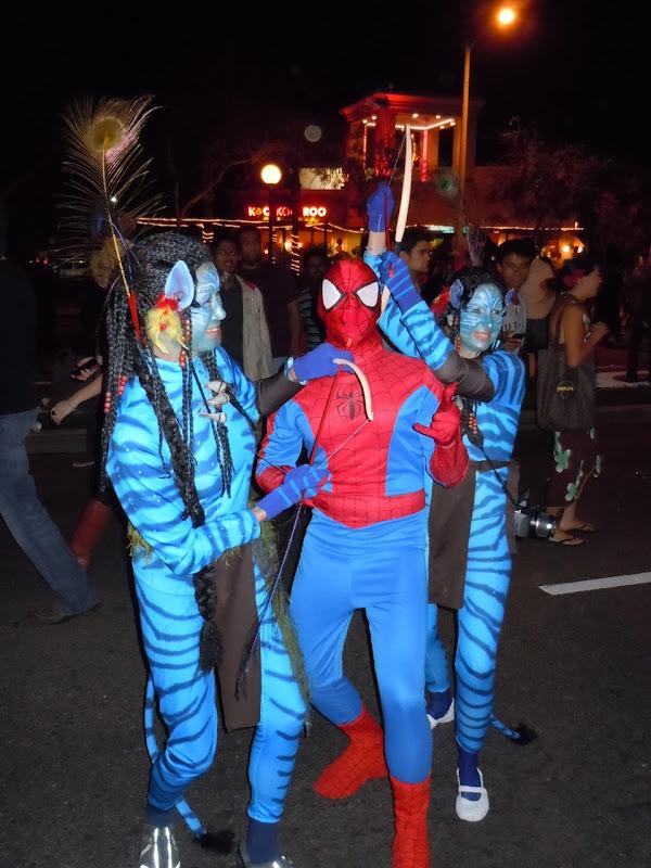 West Hollywood Halloween Avatar Spidey