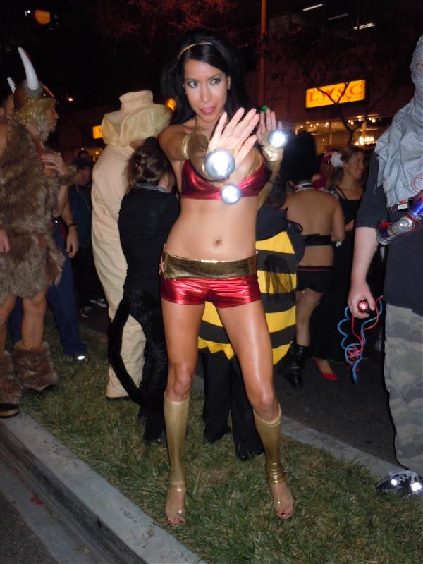West Hollywood Halloween Iron Lady