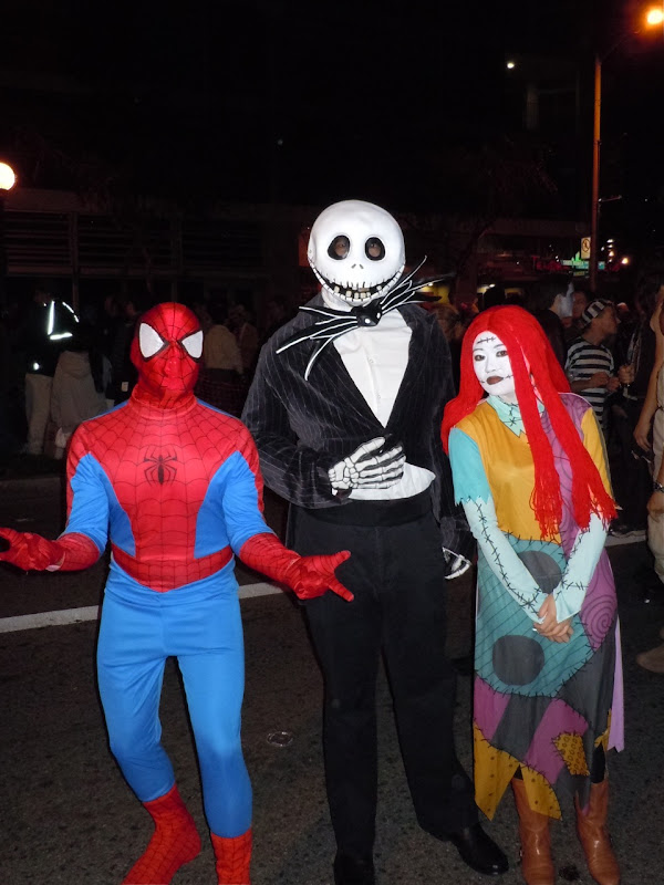 West Hollywood Halloween Jack and Sally