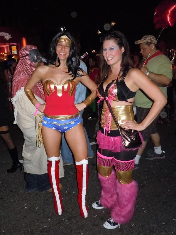 WEHO Halloween Carnaval Wonder Women