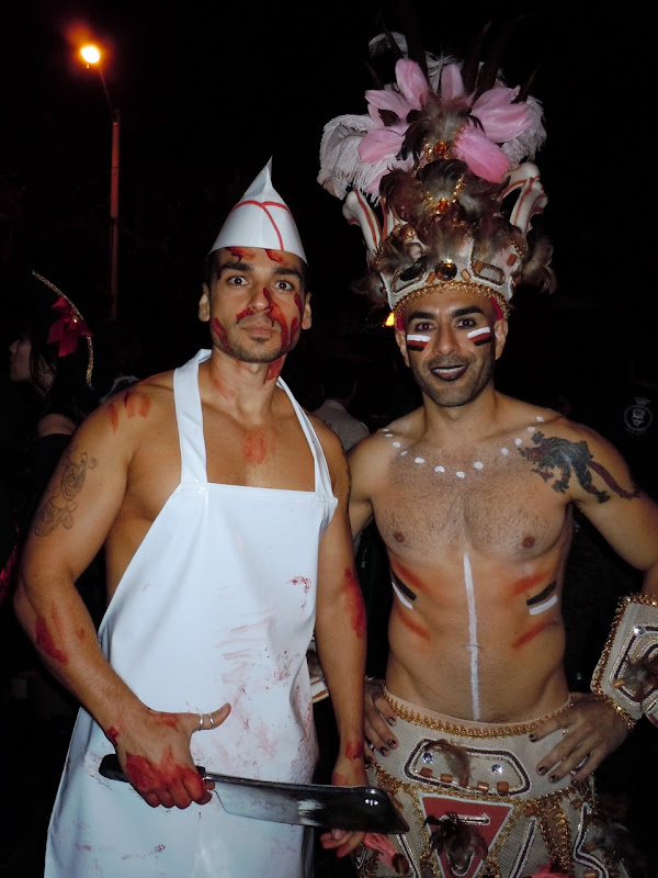 West Hollywood Halloween Carnaval hunks 2010