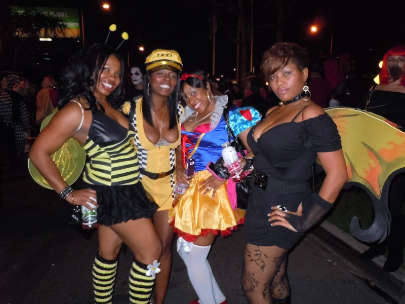 West Hollywood Halloween Carnaval fierce ladies