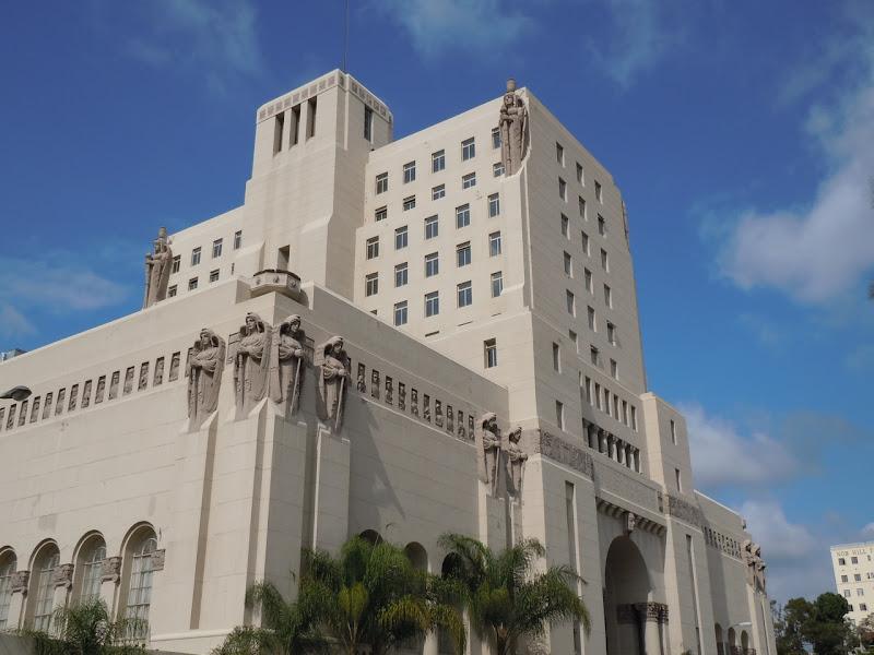 Park Plaza Hotel building Los Angeles