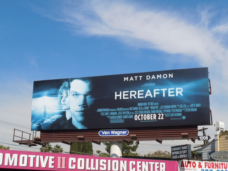 Hereafter film billboard