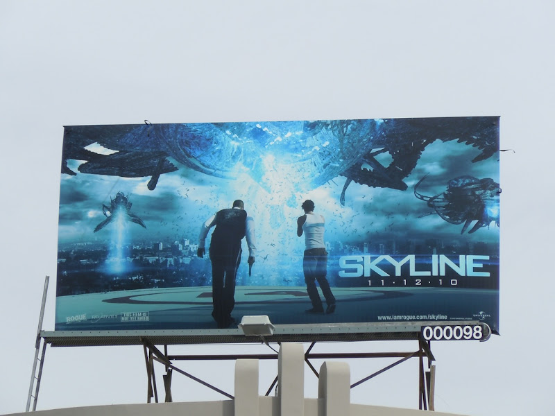 Skyline film billboard