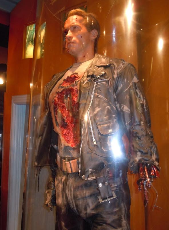 Terminator 2 Arnold Schwarzenegger animatronic