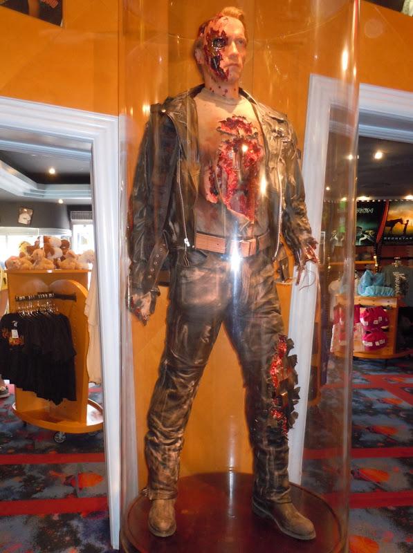 Terminator 2 Arnold Schwarzenegger cyborg prop