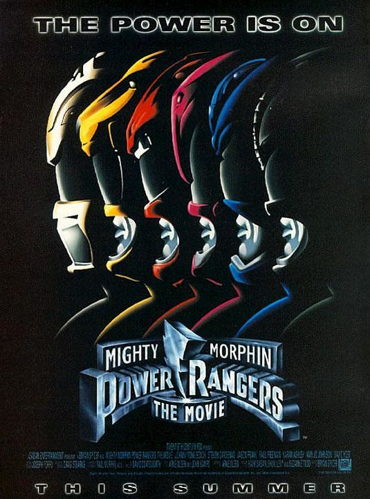 MIghty Morphin Power Rangers film poster