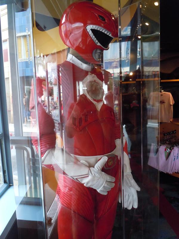 Power Rangers red film costume