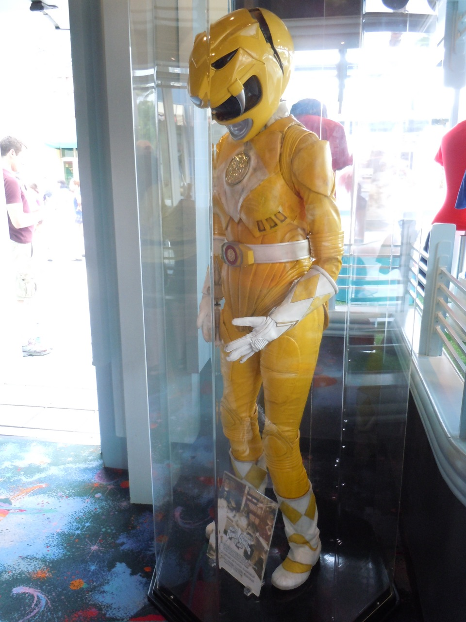Power Rangers Yellow Ranger Costume Power Rangers Yellow Movie