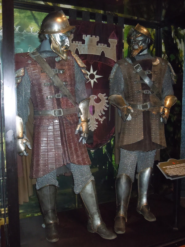 Prince Caspian Telmarine Lord battle costumes