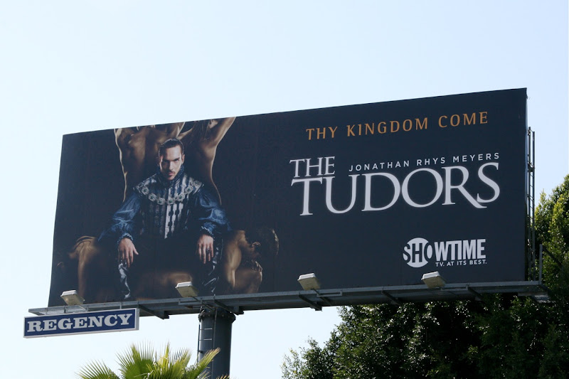 The Tudors season 3 TV billboard