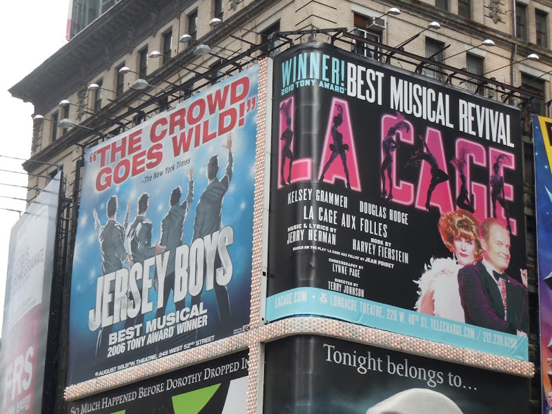 La Cage Musical billboard