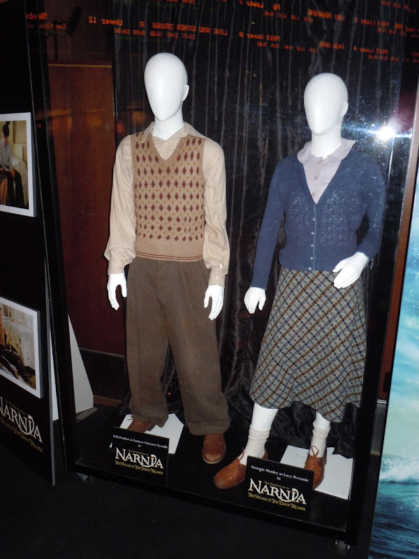 Narnia Voyage of the Dawn Treader costumes